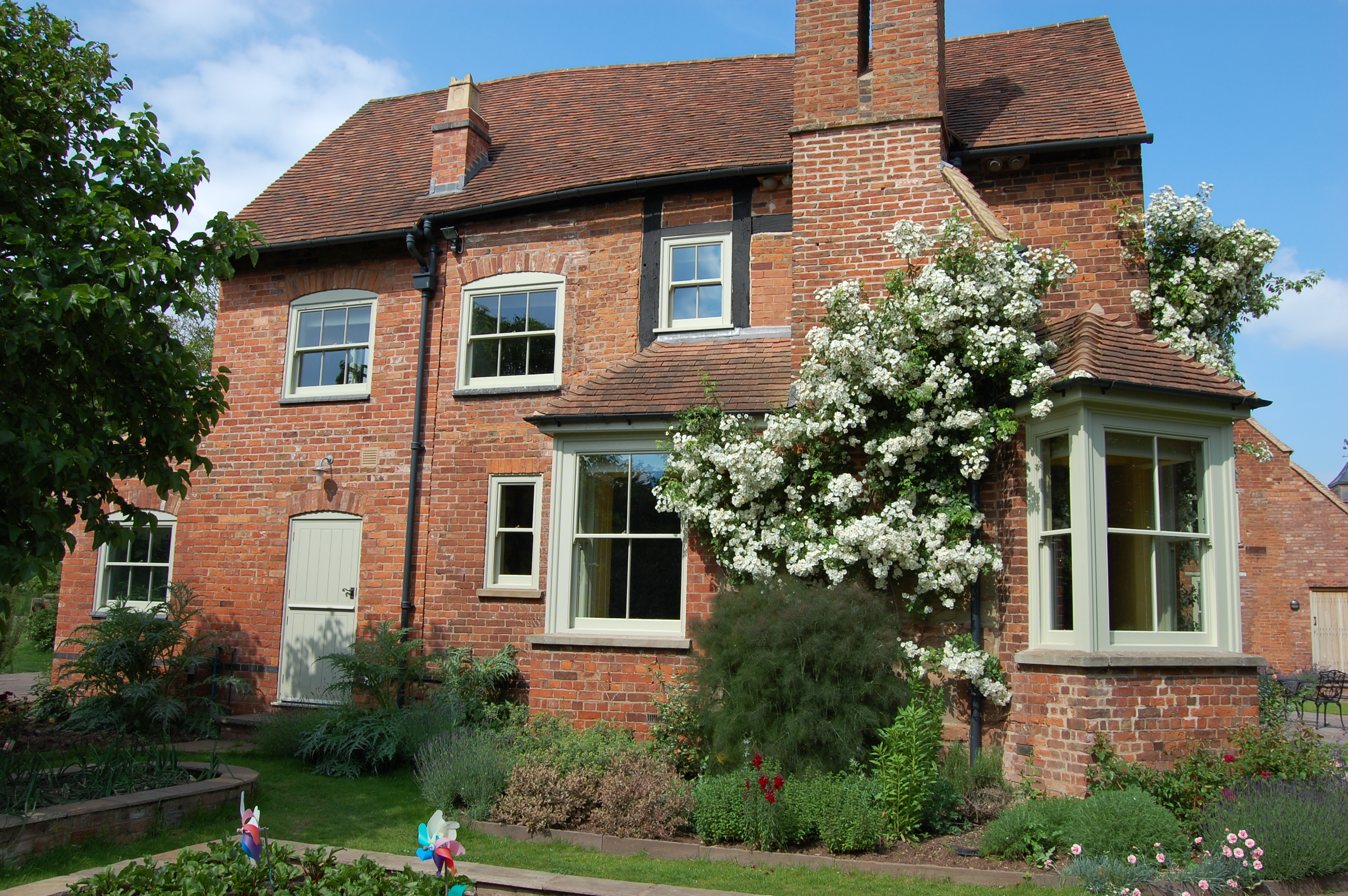 Replacement Double Glazed Windows In Classic Victorian Herefordshire Farmhouse